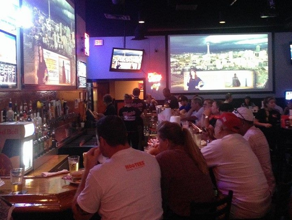 Catching a Game at Woody's Sports Restaurant Frisco Texas United States