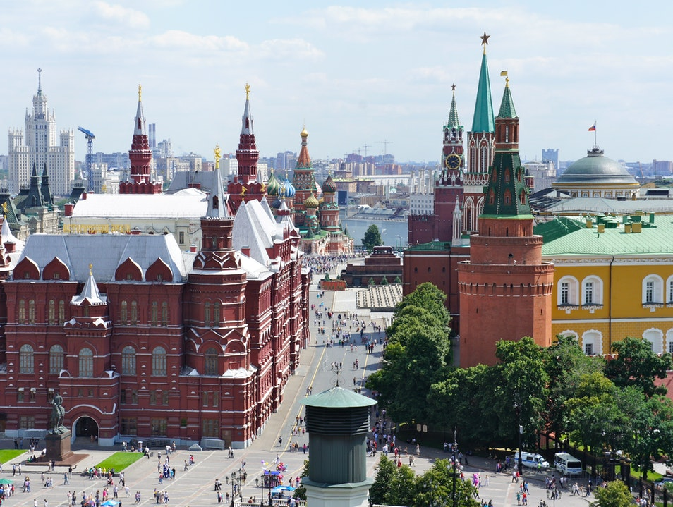 Great view of Red Square
