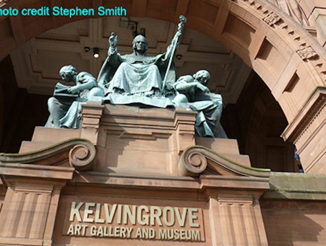 Meet me at the Kelvingrove Art Gallery and Museum
