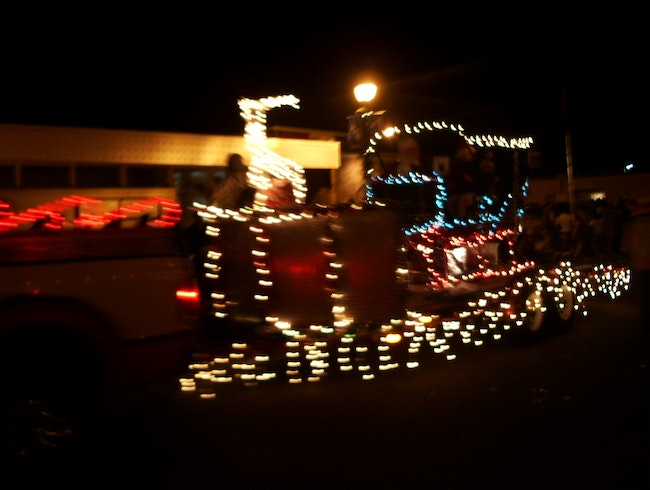 Country Charm Christmas Parade