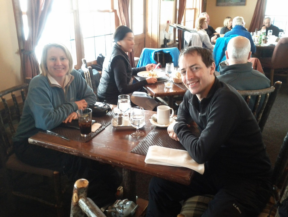 Snowcat Ride to On-Mountain Dining Snowmass Colorado United States