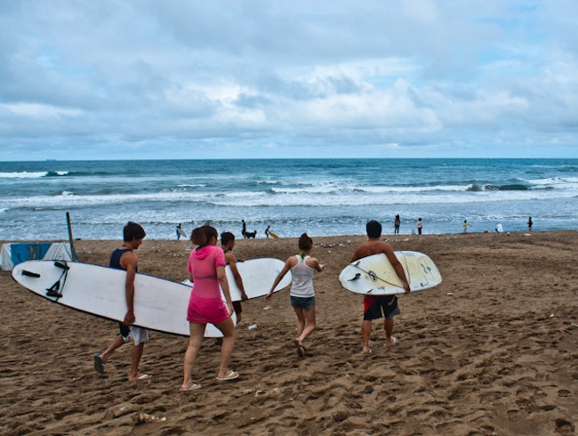 Surfing in Jinshan