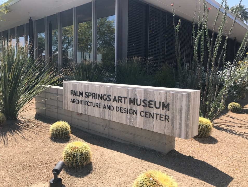 Architecture Museum in Mid Century Modern Bank Palm Springs California United States