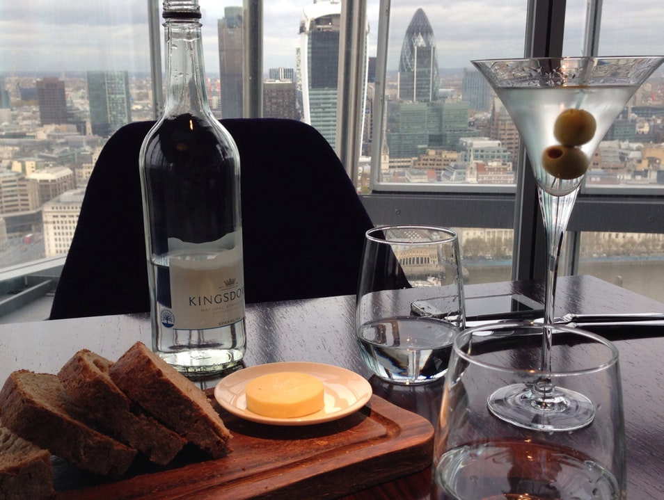 Martini Lunch with A View London  United Kingdom