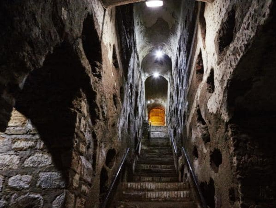 Walks of Italy: the underground of Rome through crypts, bones and catacombs   Rome  Italy