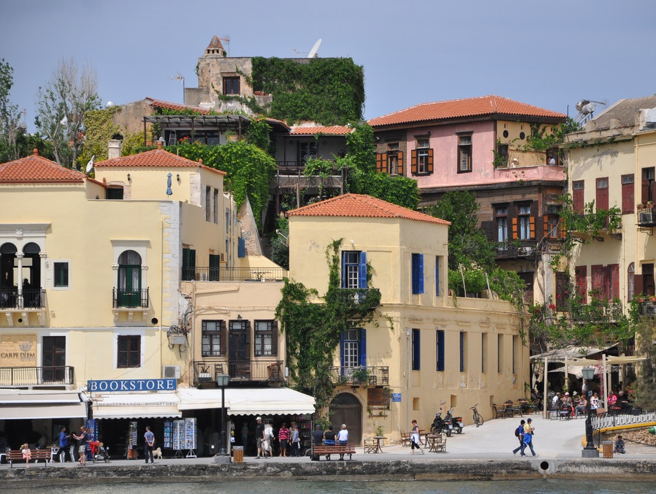 Relaxing afternoon in Chania
