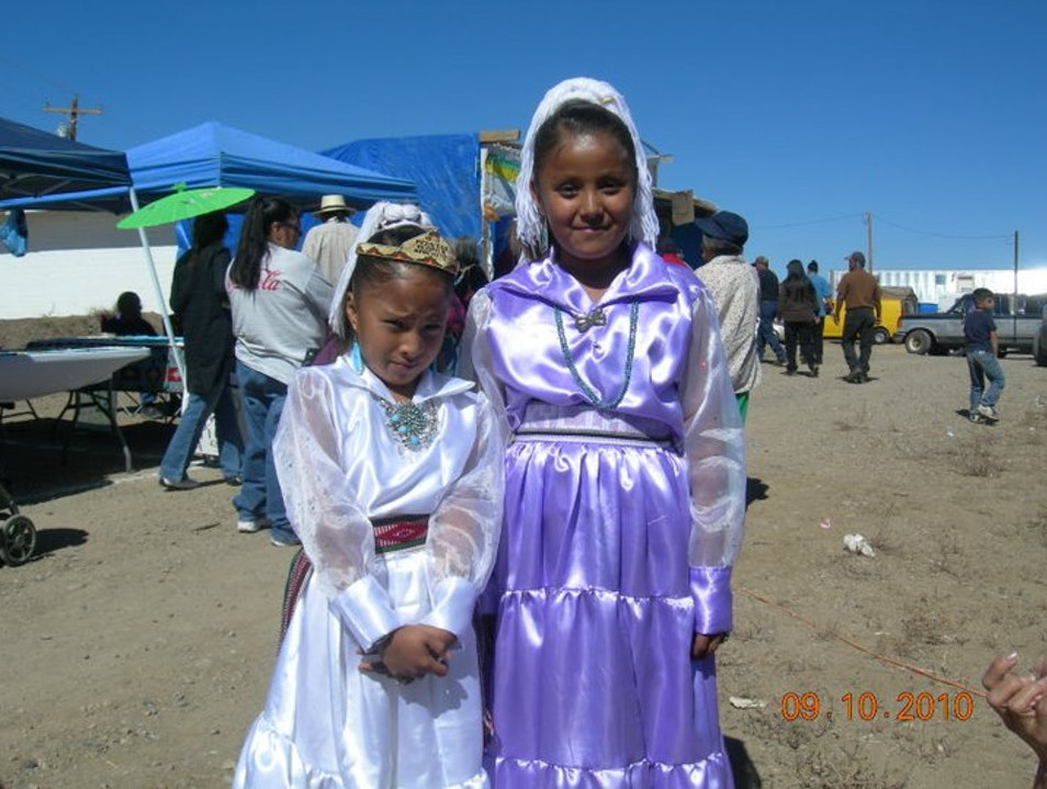 Taken at Alamo Day in a Navajo Reservation in New Mexico Tijeras New Mexico United States