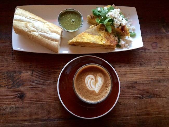 Greenhorn: Come For The Coffee...Stay For The Food