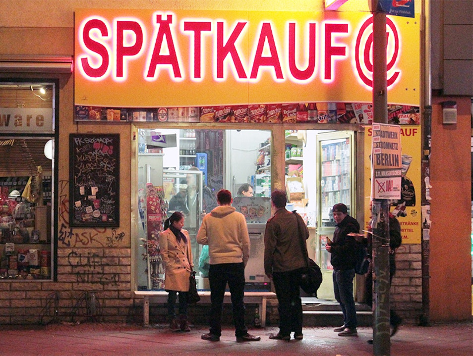 Unique Berlin Experience: Night Out at the Späti Berlin  Germany