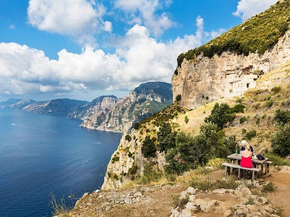 Path of the Gods Agerola  Italy