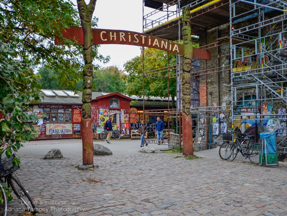 Walk inside Christiania