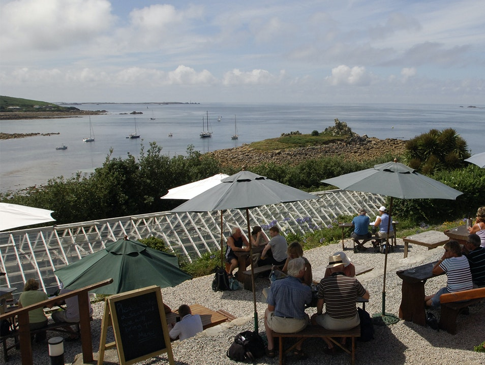 Juliet's Garden Isles Of Scilly  United Kingdom