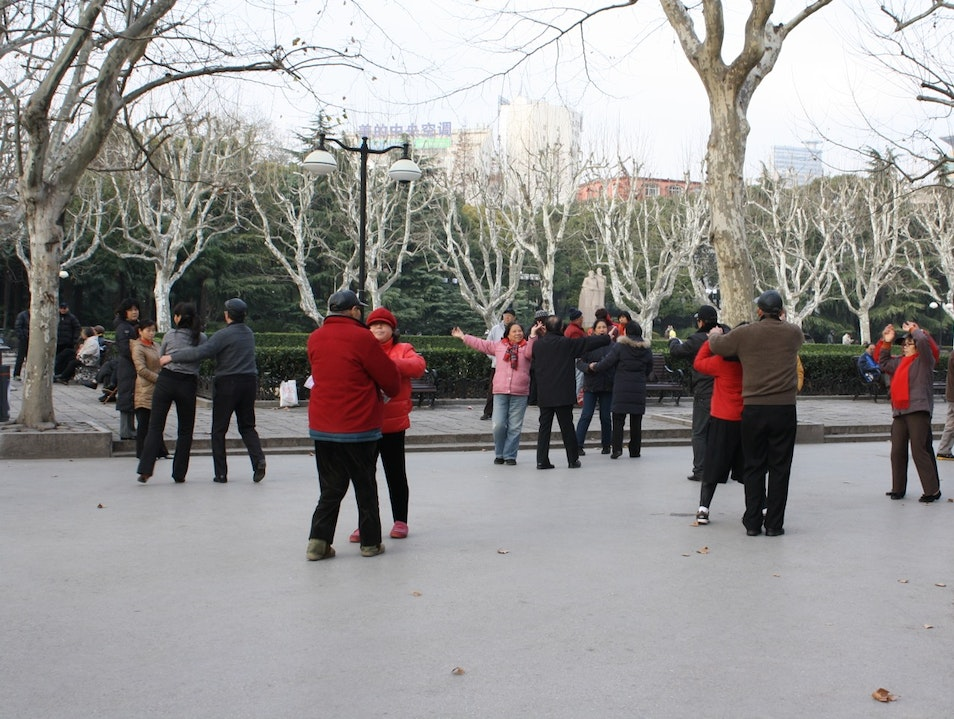 Waltzing in the Park Shanghai  China