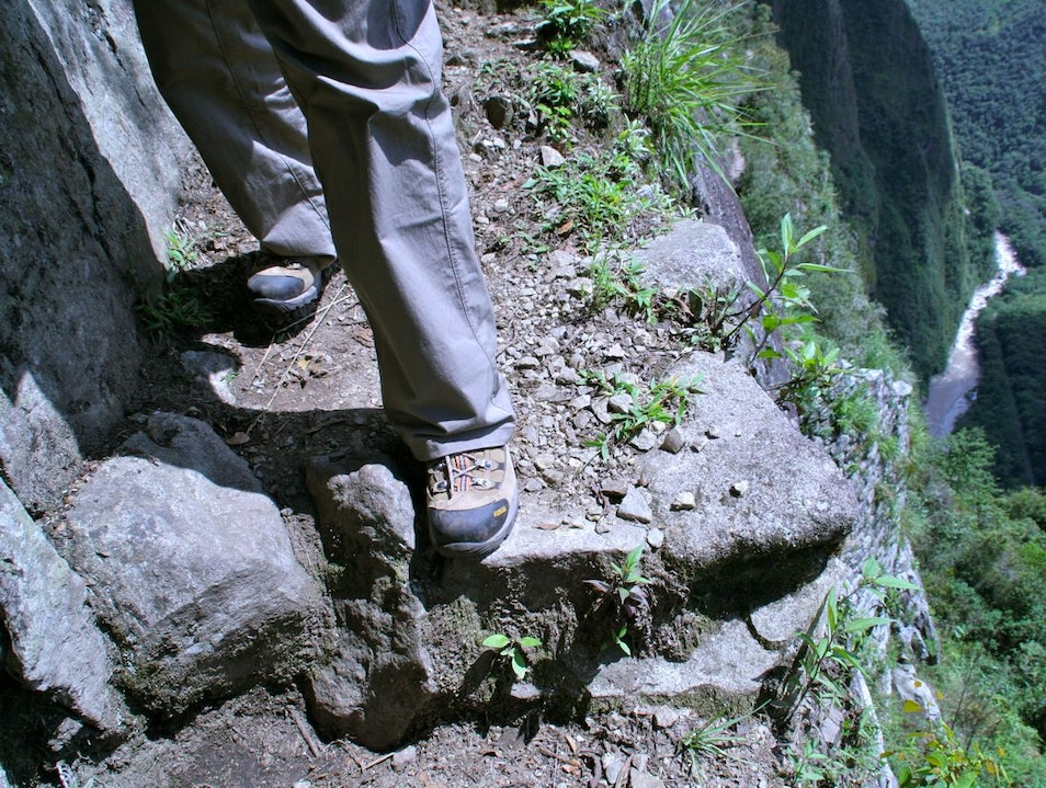 Getting Over Your Fear of Heights, Step 1 Santuario Historico Machu Picchu  Peru
