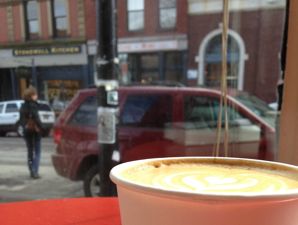 Best Latte in New England Portland Maine United States