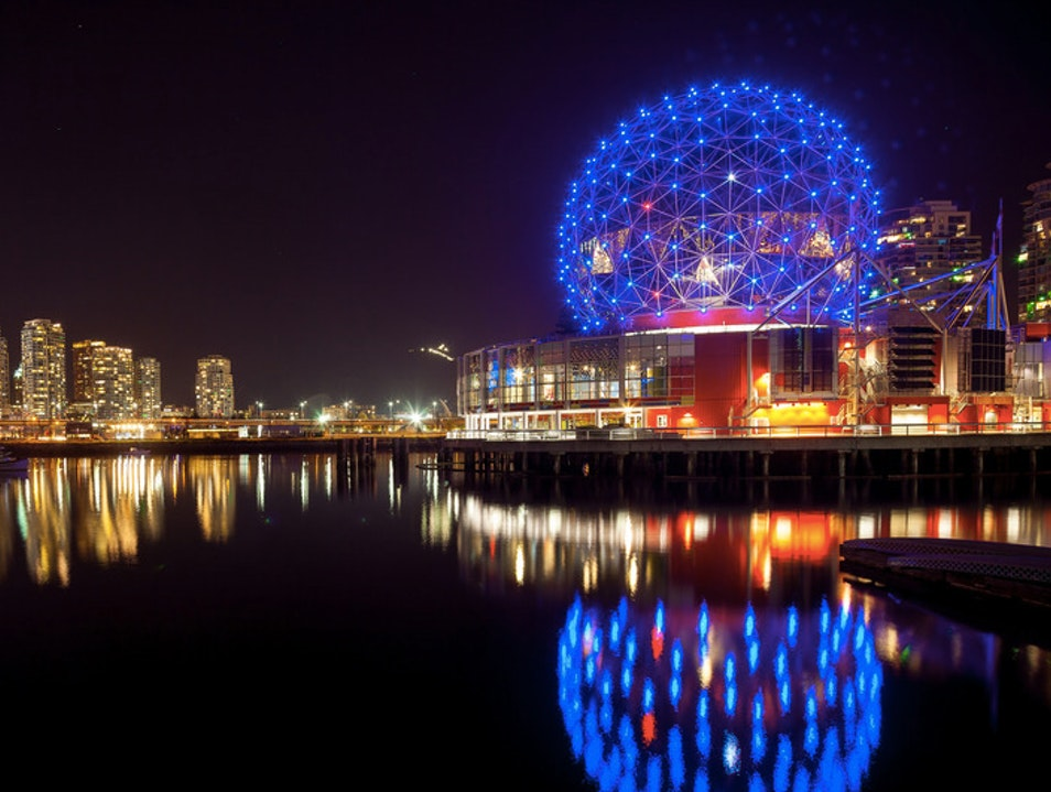 See the One of the World's Largest Omnimax Cinemas Vancouver  Canada
