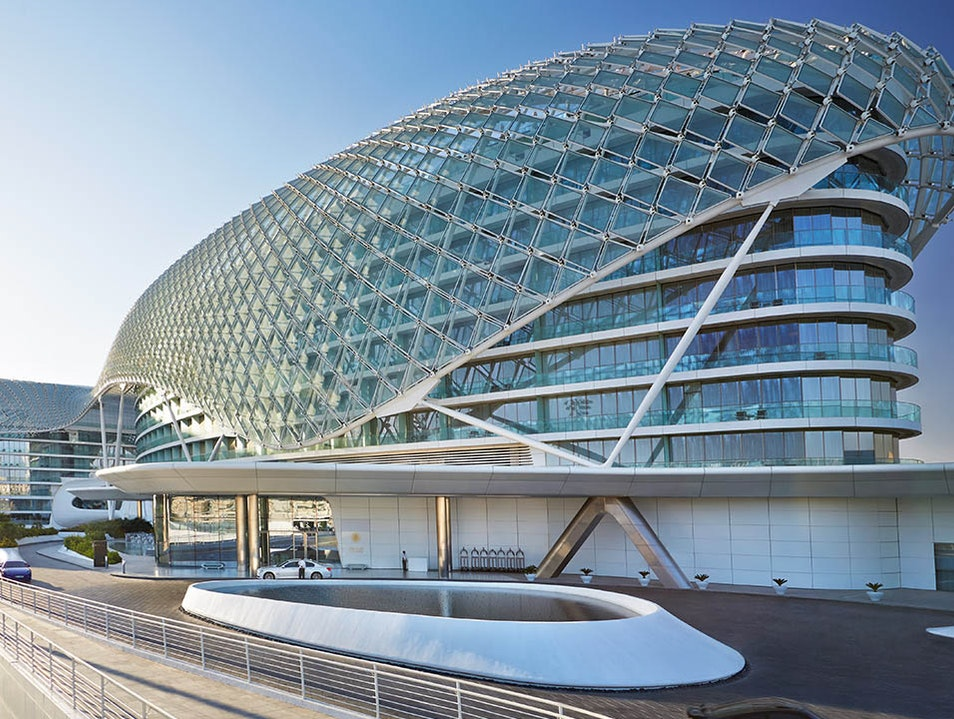 Elegance and Speed at Yas Viceroy Abu Dhabi  United Arab Emirates