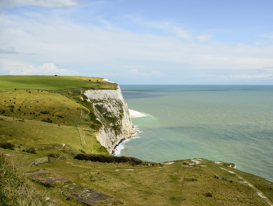 Turquoise sea  Saint Margaret's at Cliffe  United Kingdom