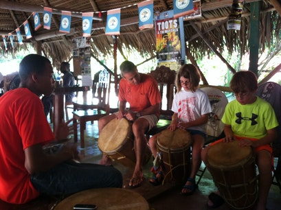 Lebeha Drumming Center Hopkins  Belize