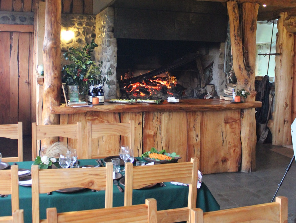 Enjoy a Fireside Meal at a Chilean Conservation Center Puerto Varas  Chile