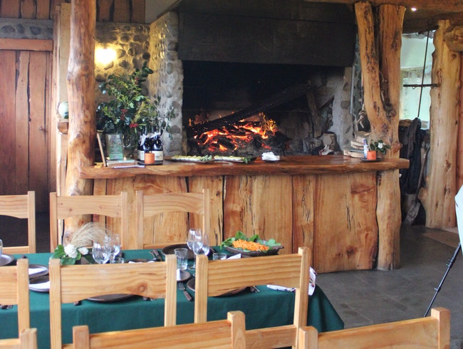 Enjoy a Fireside Meal at a Chilean Conservation Center