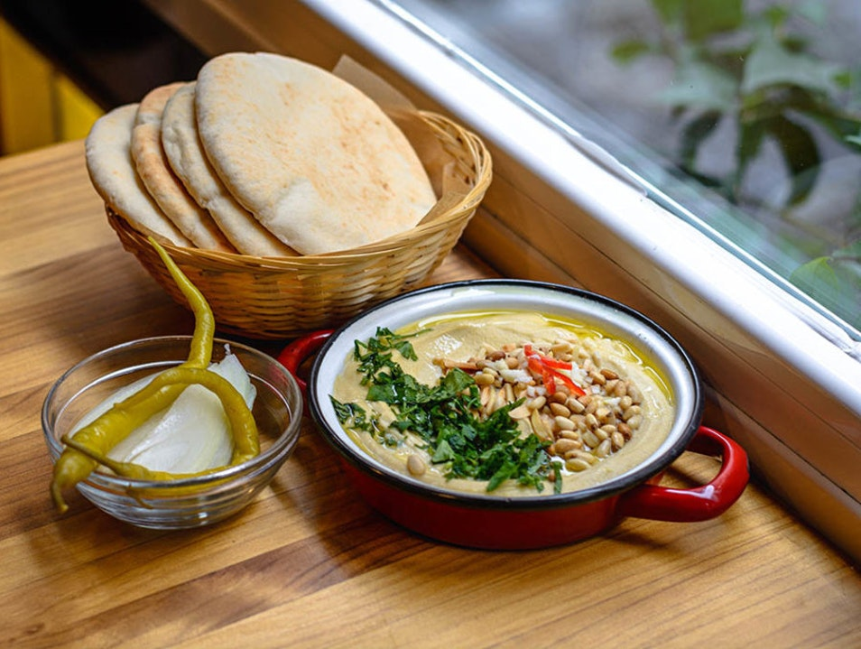 Dip Into Warm Hummus Anytime of the Day or Night Madrid  Spain