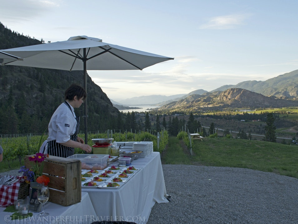 Joy Road Catering: A Gatsby-esque moveable feast in the Okanagan Penticton  Canada