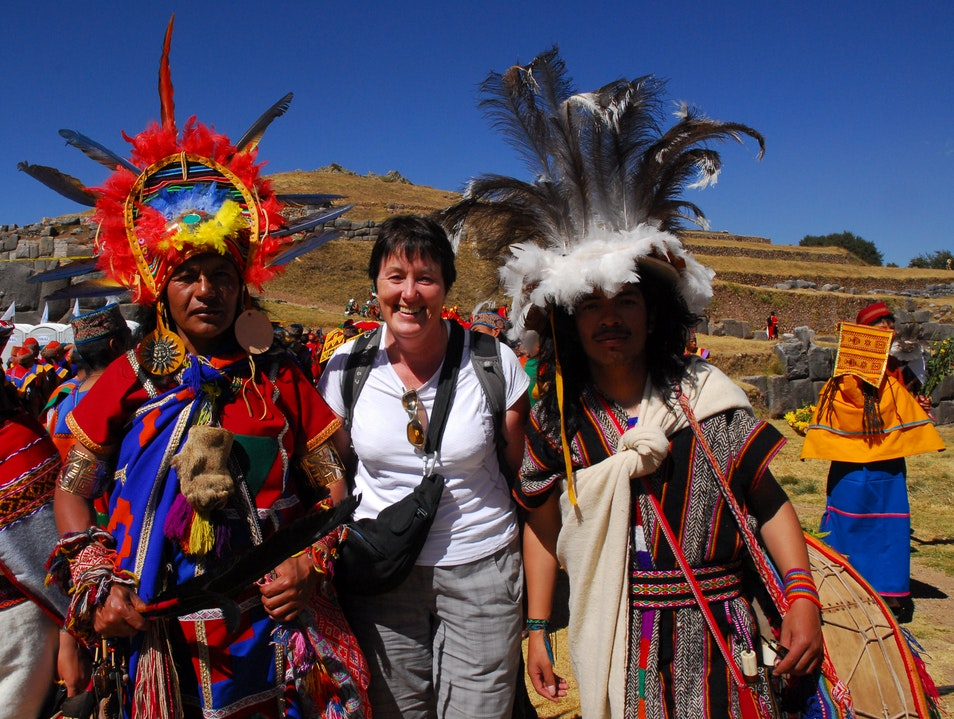 Meeting the Incas at Inti Raymi (Festival of the Sun) Cuzco  Peru