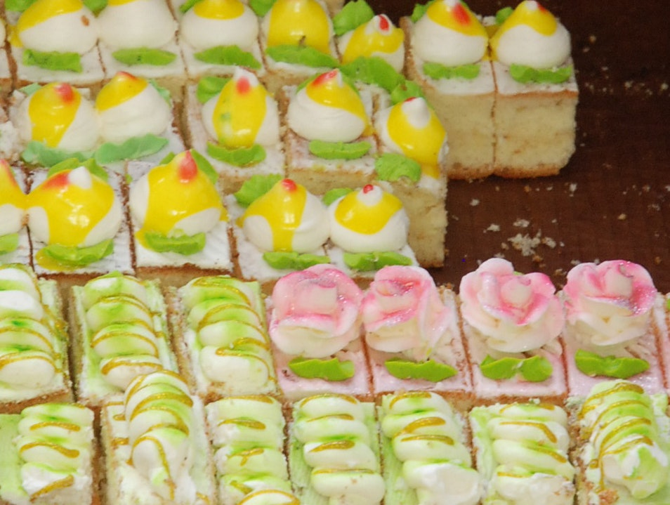 Pastries at the Market in Khiva