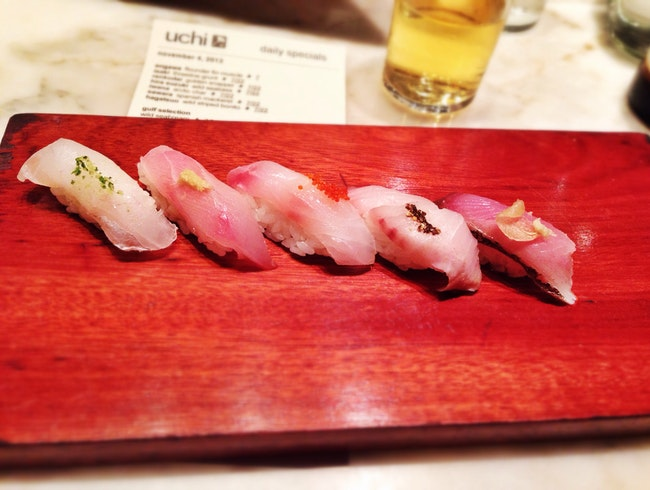 Creative Japanese Cuisine at Uchi