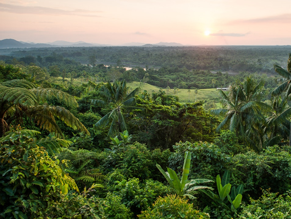 Soak in the Karawari Lodge Views Wosera-Gawi  Papua New Guinea