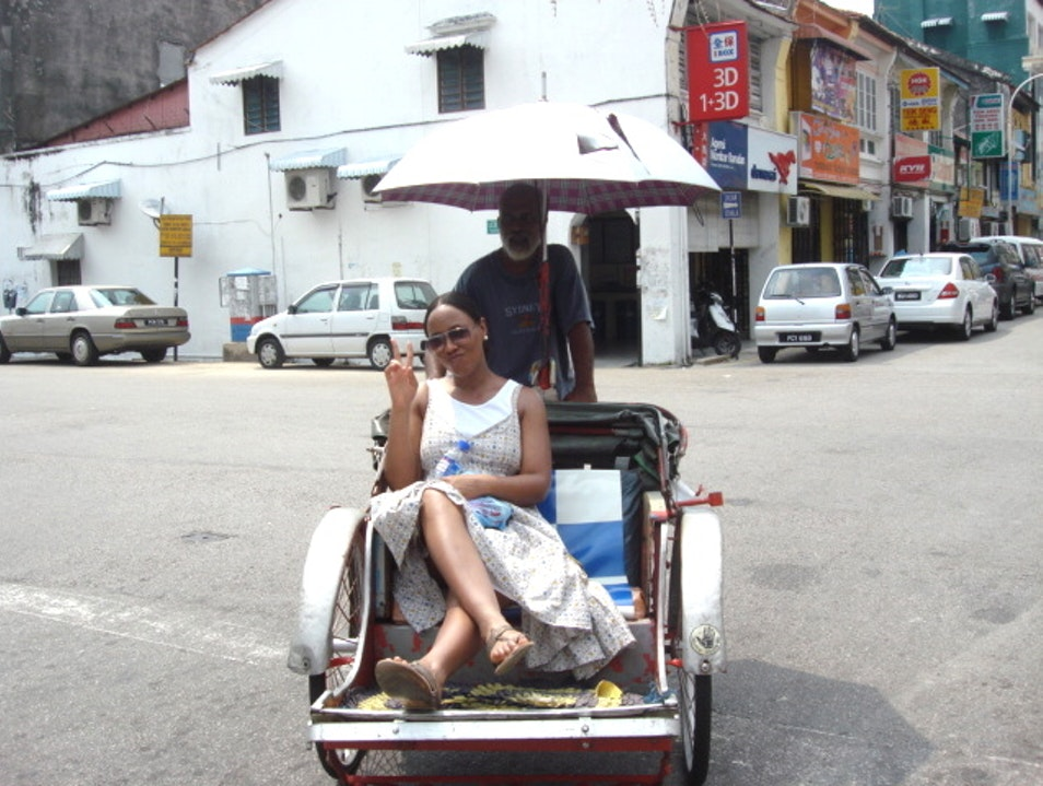 A new mode of transport! George Town  Malaysia