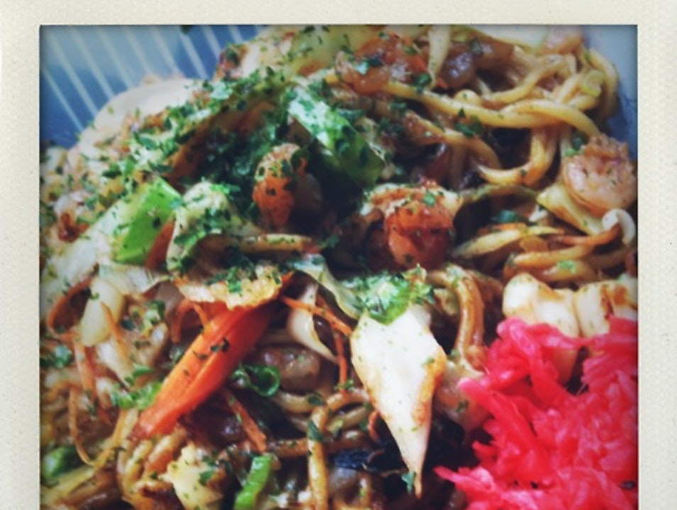 Yakisoba in NYC New York New York United States