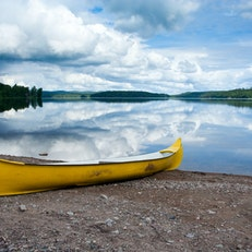 Canoeing in Dalsland