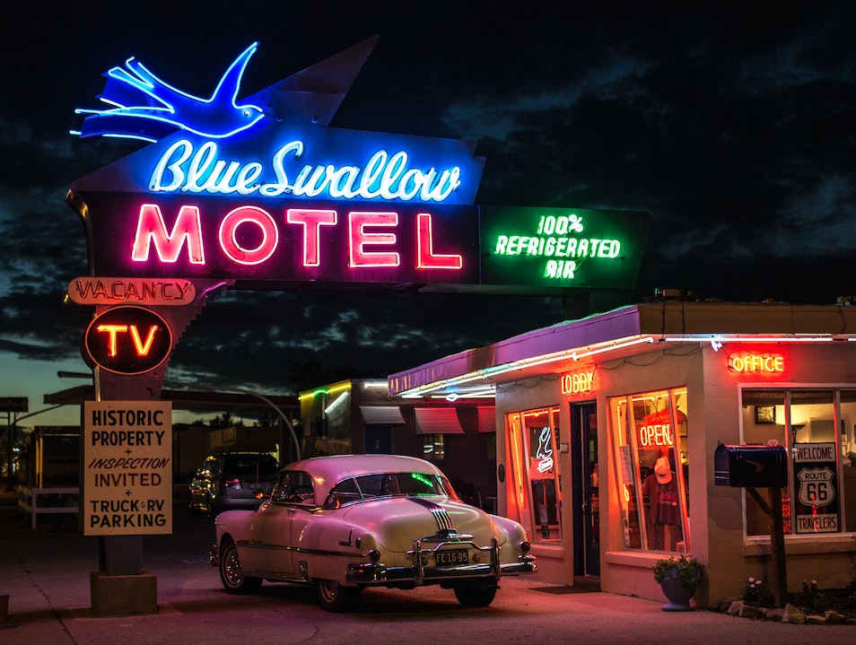Blue Swallow Motel Tucumcari New Mexico United States