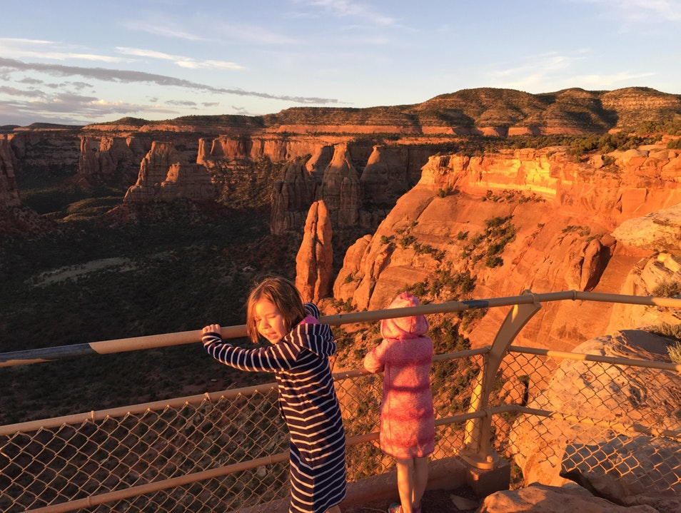 Watch the sunrise from Colorado National Monument Fruita Colorado United States