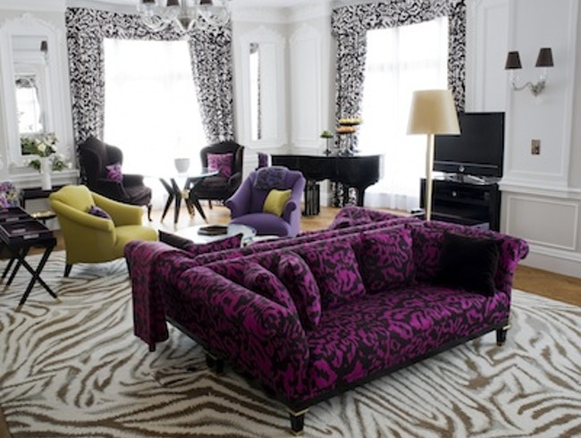 Diane von Furstenberg's Piano Suite at Claridge's