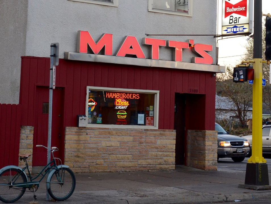 Matt's Bar & Grill  Minnesota United States