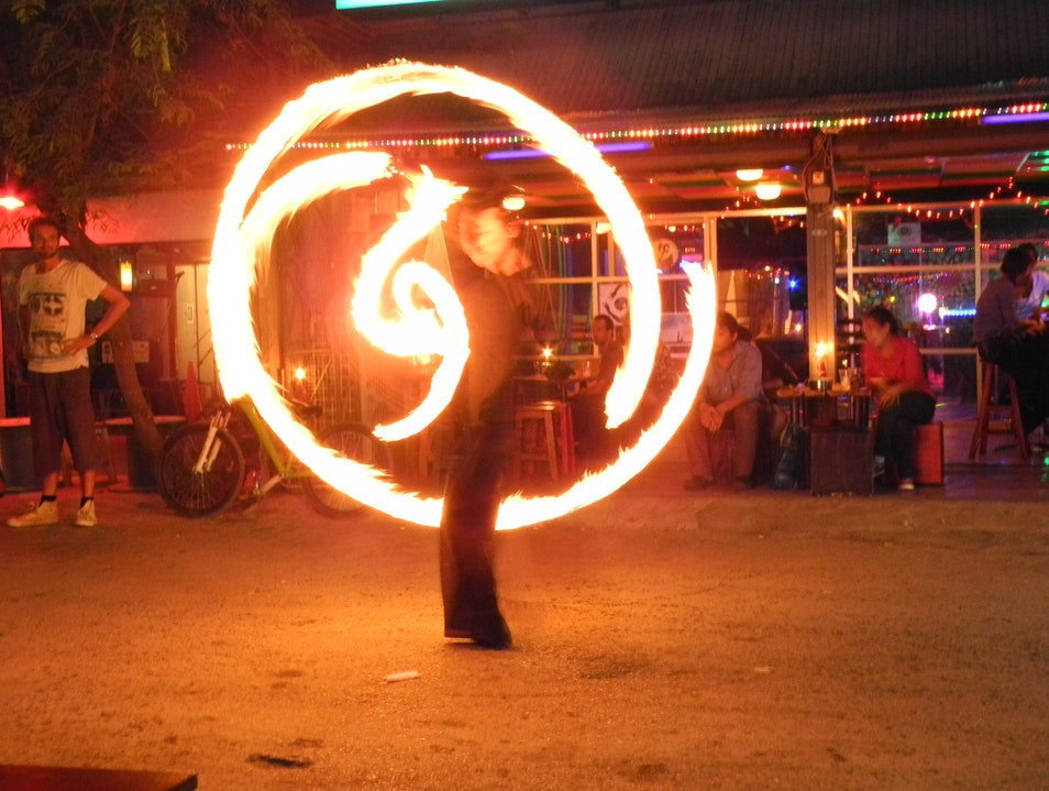 Reggae Fire Shows in Chiang Mai
