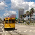 Teco Line Steetcar, Downtown Tampa Tampa Florida United States
