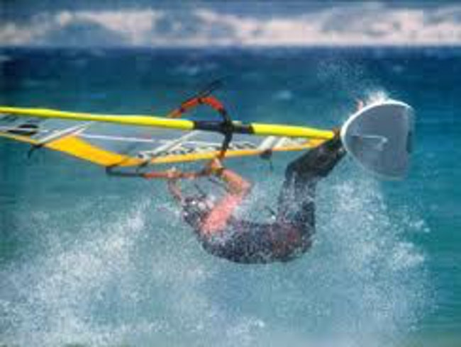 Windsurf in Tarifa, Spain