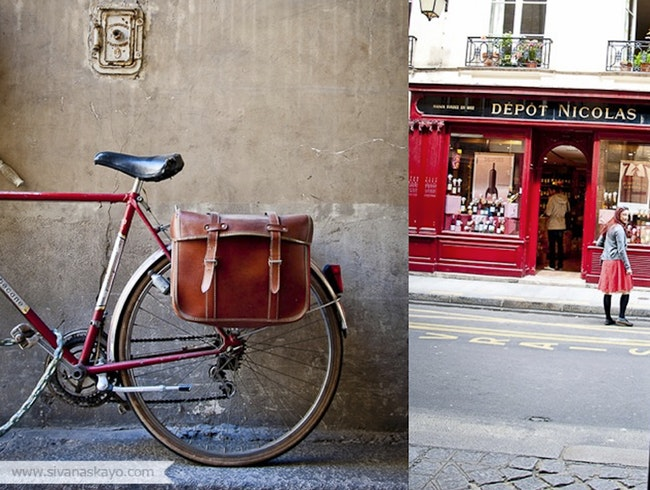 The Bicycles of Paris