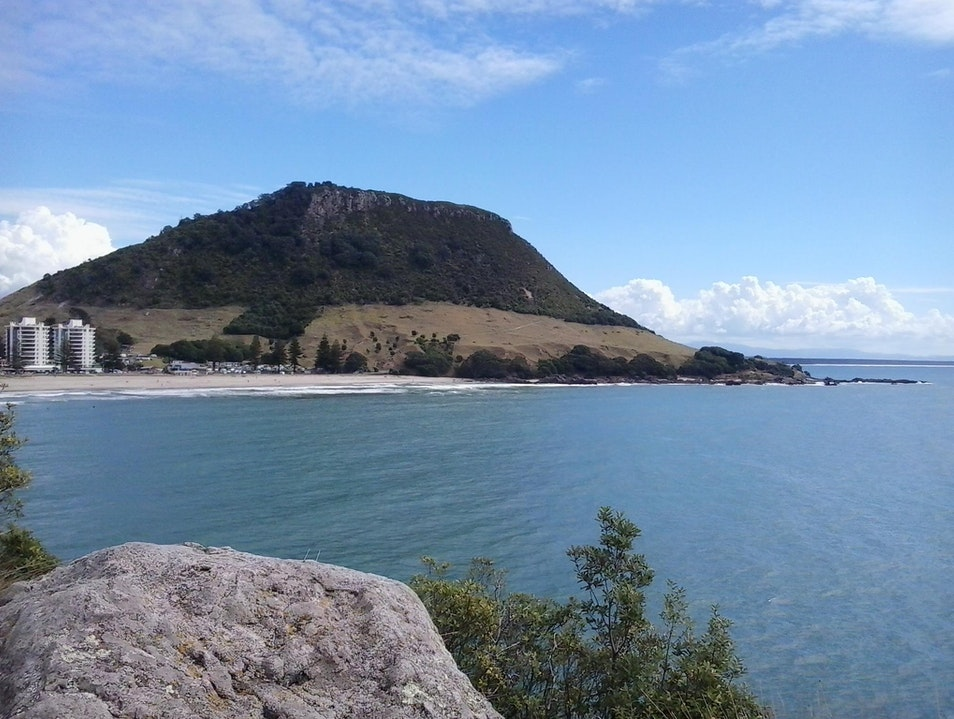 Hiking the Mount Tauranga  New Zealand