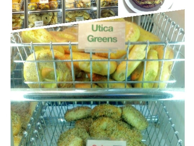 Bagel Shop with Truly Unique Flavors