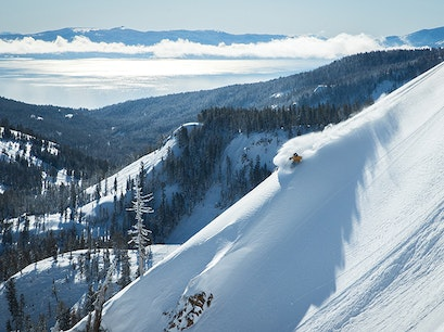 Squaw Valley Alpine Meadows Tahoe City California United States