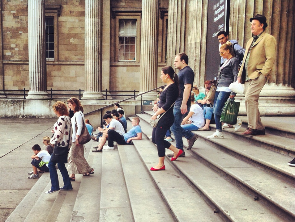 People-watching At The British Museum