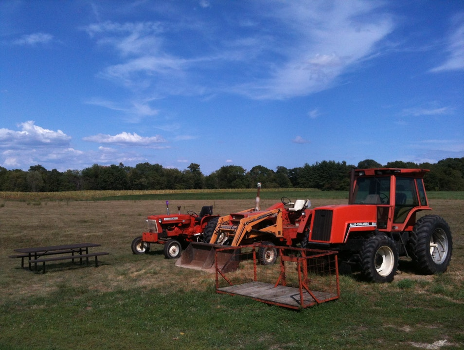 Tractor Time.