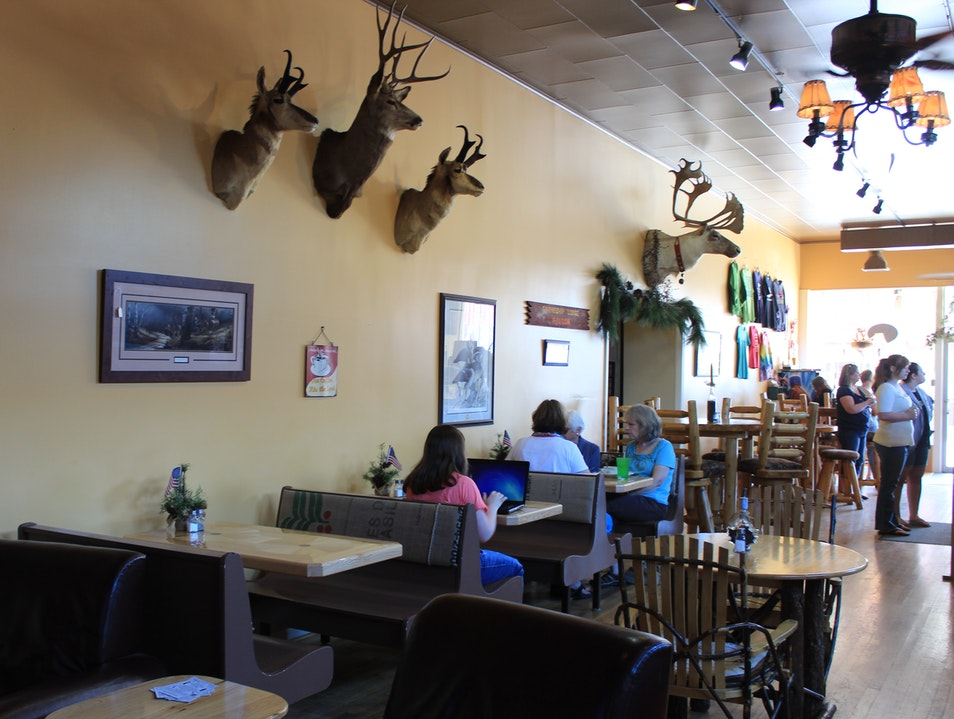 The Best Local's Coffee Shop: Cabin Creek Coffee Alpena Michigan United States