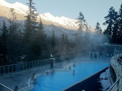 Banff Upper Hot Springs Banff  Canada
