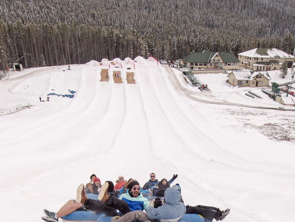 Slip Sliding on the Slopes at Mt Norquay Banff National Park  Canada